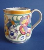 Poole Pottery ED Pattern Jug by Truda Carter c1930